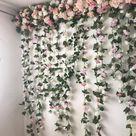 Flower garland, Flower wall, Floral garland, Wedding wall, Flower swag, Photography backdrop, flower wall backdrop, Floral backdrop
