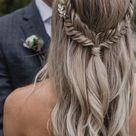 36 Elegant And Fresh Wedding Hairstyle Trendy In 2019   SooShell in 2020   Wedding hair half, Hair s