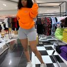 O T F S OG printed sweatshirt in Hyper Orange 🔥🔥🔥🔥