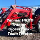 Yanmar 1401D Tractor - Closer look - Team Tractor