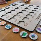 Wooden alphabet Montessori, personalized montessori puzzle