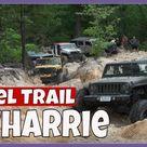 Uwharrie Daniel Trail Hill Climb Jeep Wrangler Cherokee Off Road