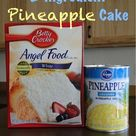 Pineapple Angel Food