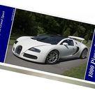 1000 Piece Puzzle. 2009 Bugatti Veyron Grand Sport