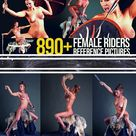 Drawing Reference Photos: Fantasy Female Rider