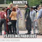 Fab hawkeye is fab - Funny