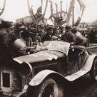 Mille Miglia 1928   Alfa Romeo 6C 1500 Sport Spider Zagato 30 of Campari / Ramponi. Winner
