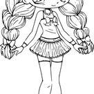 Coloriage Chibi Cool Images Coloriage Chibi Princesse à