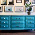 Turquoise Dresser