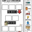 FREE all about earth day activities printables
