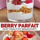 Yogurt Parfait - Dinner, then Dessert