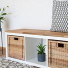Holzplatte für IKEA Kallax Regal 3 Fächer breit