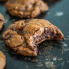 Dunkle Schoko-Cookies mit Karamell - Jenny is baking