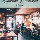 Essen & Trinken in Florenz