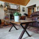 Modern X Series Amish Made Coffee Table