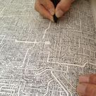 Guy Spends 7 Years Drawing Incredibly Intricate Maze