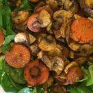 Ensalada con zanahoria y champiñones al curry   Tasty details