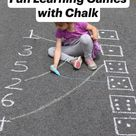 Fun Learning Games with Chalk