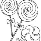 Free & Easy To Print Candy Coloring Pages   Tulamama