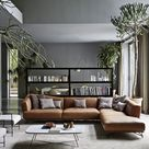 Living Rooms With Brown Sofas: Tips & Inspiration For Decorating Them