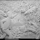 Jeff Nishinaka, 1981 ~ Paper sculpture