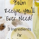 The Only Lip Balm Recipe You'll Ever Need!