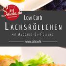 Lachsröllchen und Keto Experiment Woche 1 • salala.de