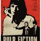 Pulp Fiction Vintage Movie Poster