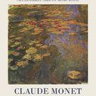Claude Monet - Exhibition poster