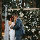 Poconos Outdoor Spring Wedding Ceremony | Poconos Wedding Venue | Micro Wedding Ideas