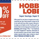 Hobby Lobby is the best place to save % on home goods and crafts. Check out the best ways to stack the one 40% off coupon and the great weekly sales. Hobby Lobby is the best place to save % on home goods and crafts. Check out the best ways to stack the one 40% off coupon .