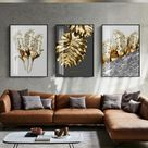 Gallery Wall Ideas - Home Decor Wall Art - Canvas Abstract Painting