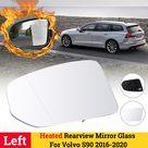 Generico Espejo retrovisor con calefacción izquierda para Negro plat