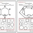 Colouring Shapes - Hexagons - Aussie Childcare Network