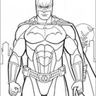 printable batman costume arkham city coloring in sheet - Free Kids Coloring Pages Printable