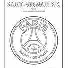 Paris Saint-Germain F.C. logo coloring page - Cool Coloring Pages