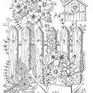 Sabine van Ee                                                                                        - Mijn Droomtuin - Het kleurboek voor volwassenen