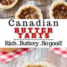 Canadian Butter Tarts (video)