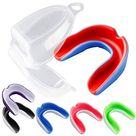 Vanmor 6 Pack Youth Mouth Guard Sports Mouthguard for Kids Double Colored Teeth Protector with Transparent Box for Football Basketball Boxing MMA Hockey   Default
