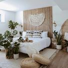 Luxe Boho Scandi Bedroom Design