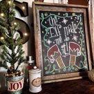 Home Decor Chalkboard