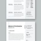 Modern and Professional Resume Templates DOCX, PSD, AI