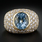 Pave Diamond Rings