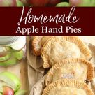 Apple Hand Pies (freezer friendly!)