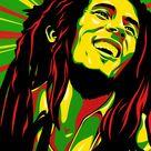 Bob Marley by silverhornet29 on DeviantArt
