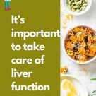 What is the important of take care of liver function in TCM ?