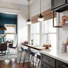 18+ Elegant Kitchen Cabinet Idea Decorating Unique And Stylish #kitchens #kitche...