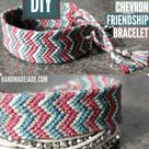 Chevron Friendship Bracelets