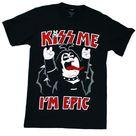 Family Guy Kiss Me, I'm Epic Men's T Shirt   Medium