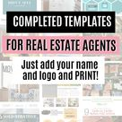 Expired Guide- Expired Listing Handout - Real Estate Marketing, Real Estate, Realtor Marketing, Listing Presentation, Real Estate Branding